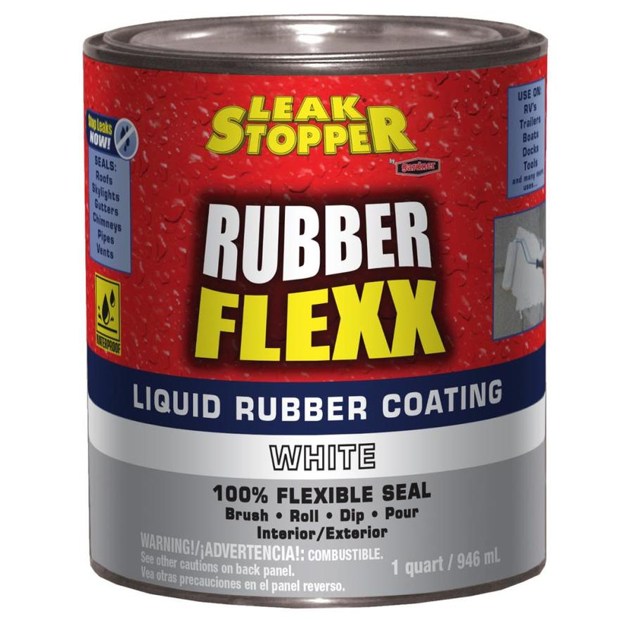 Leak Stopper Rubber Flexx 1 Quart Waterproof Roof Sealant