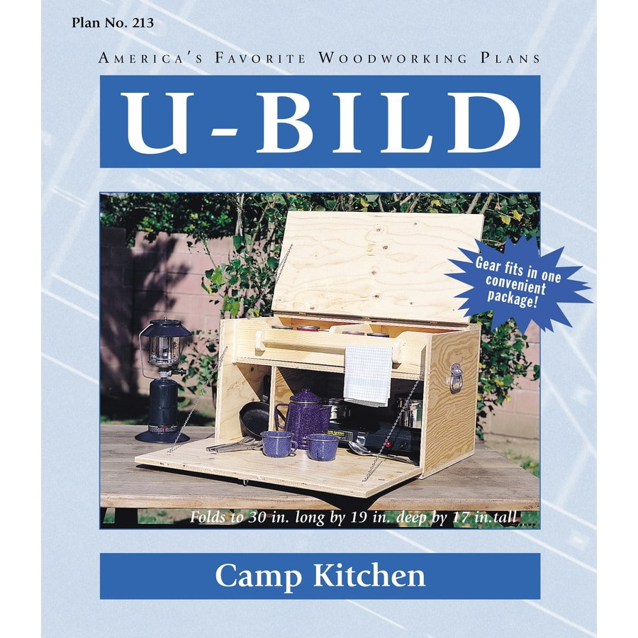 U-Bild Camp Kitchen Woodworking Plan