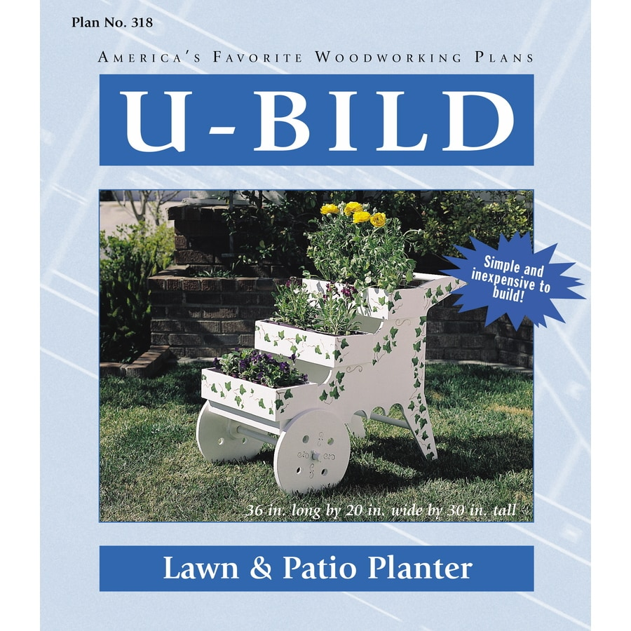 U-Bild Lawn and Patio Planter Woodworking Plan