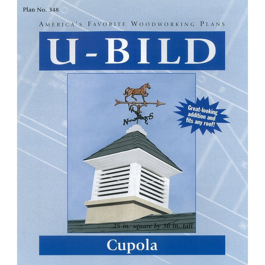 Shop u bild cupola woodworking plan at for Free cupola blueprints