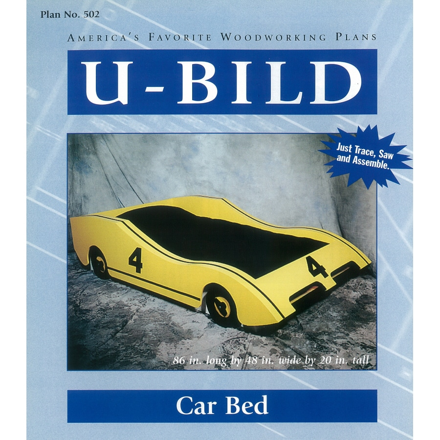 U-Bild Car Bed Woodworking Plan