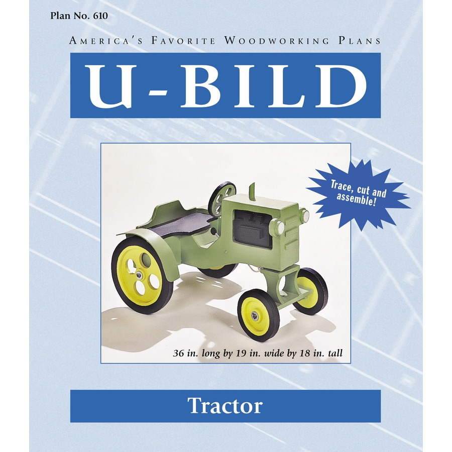 U-Bild Tractor Woodworking Plan