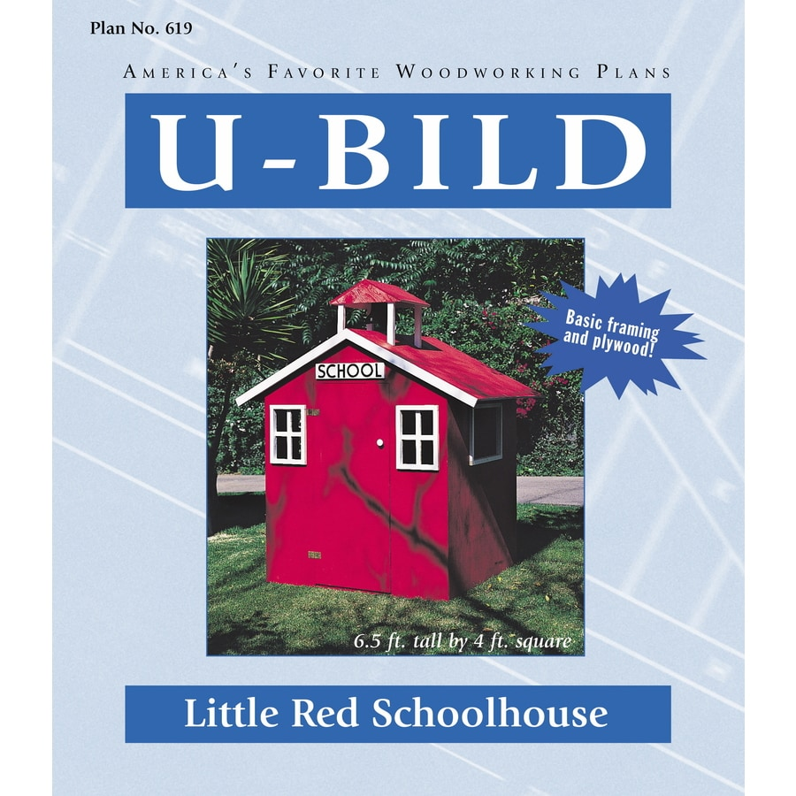 U-Bild Little Red Schoolhouse Woodworking Plan