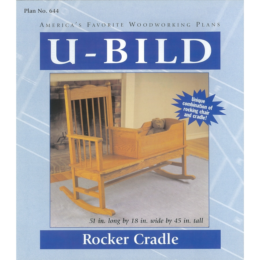 U Bild Rocker Cradle Carpentry And Woodcraft Book At Lowes Com