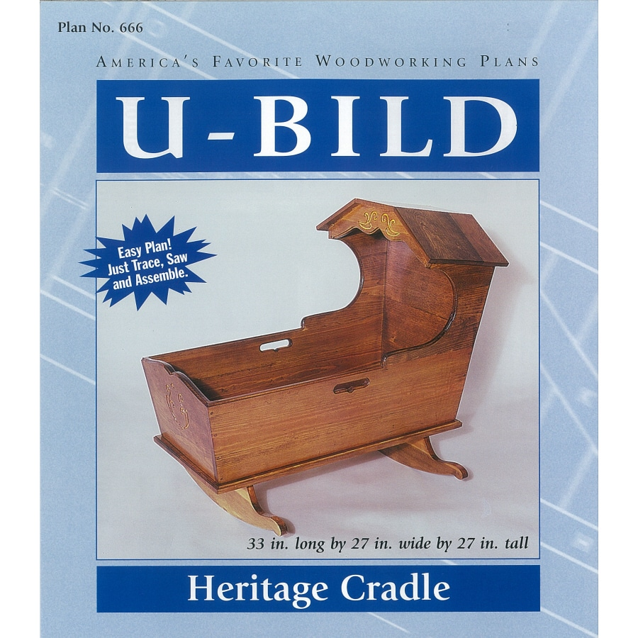 U-Bild Heritage Cradle Woodworking Plan
