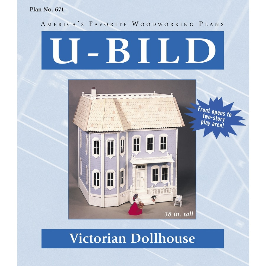 Shop U Bild Victorian Dollhouse Woodworking Plan At