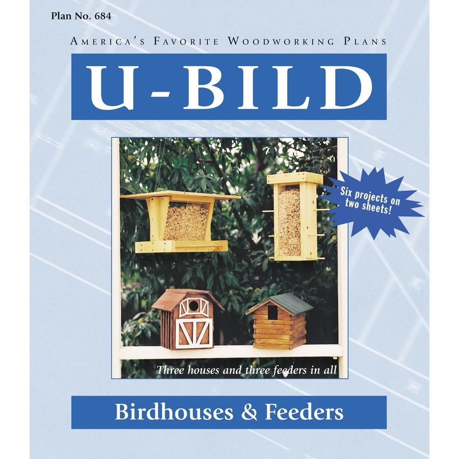U-Bild Birdhouses and Feeders Woodworking Plan