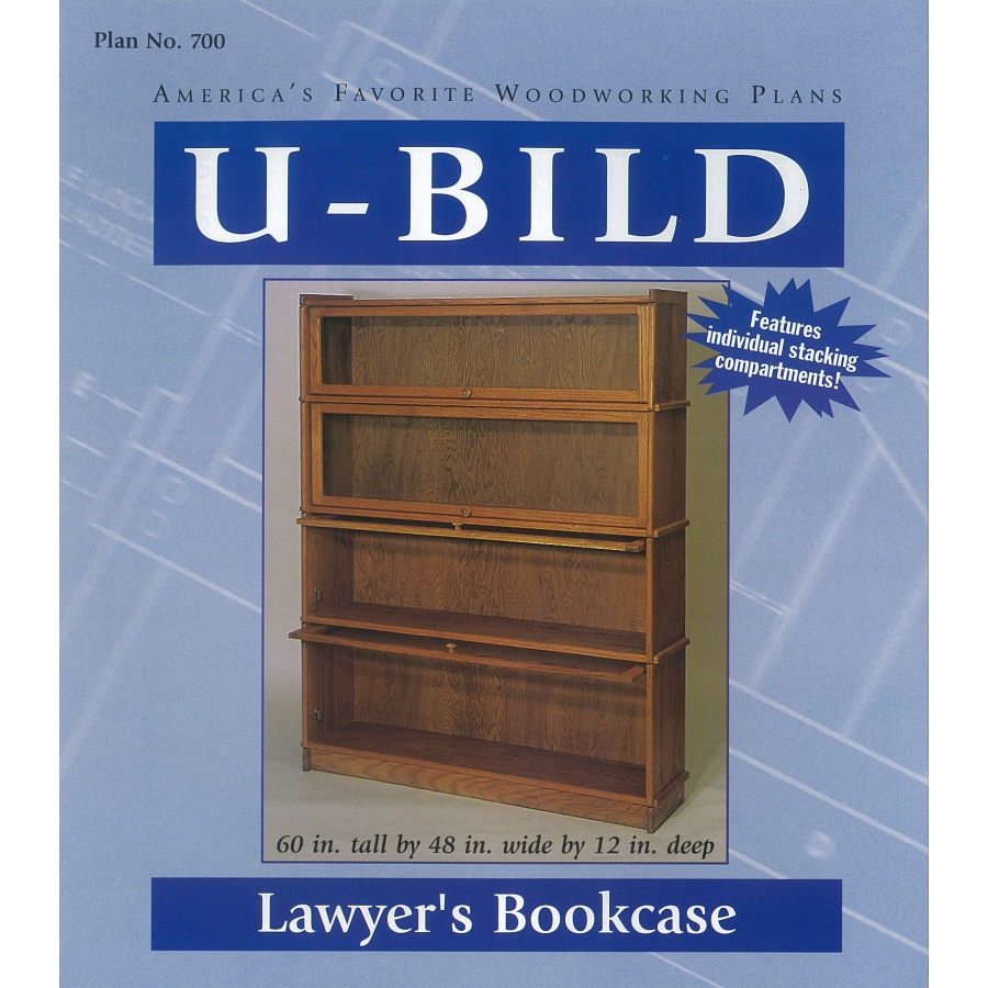 U-Bild Lawyer's Bookcase Woodworking Plan