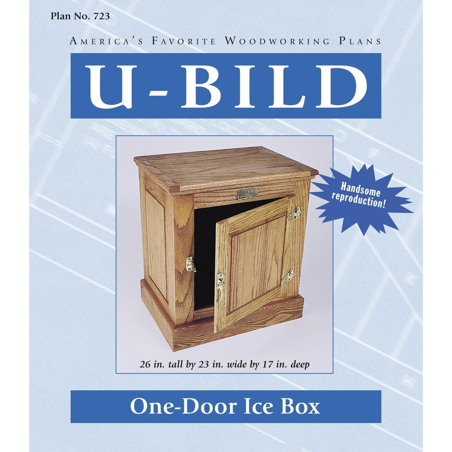 U-Bild One-Door Ice Box Woodworking Plan