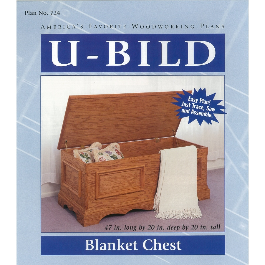 U-Bild Blanket Chest Woodworking Plan