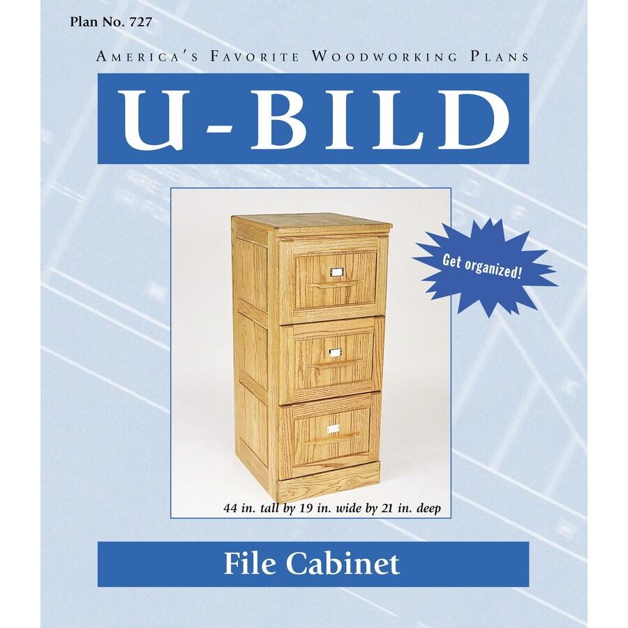 U-Bild File Cabinet Woodworking Plan
