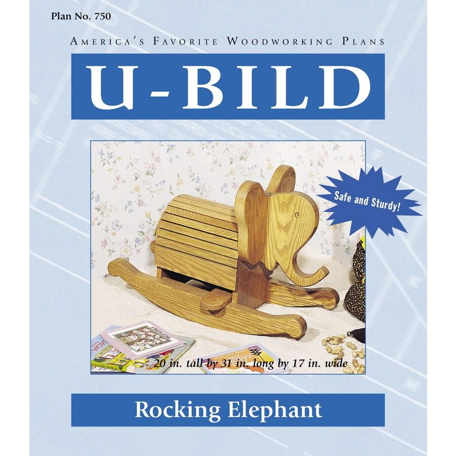 U-Bild Rocking Elephant Woodworking Plan