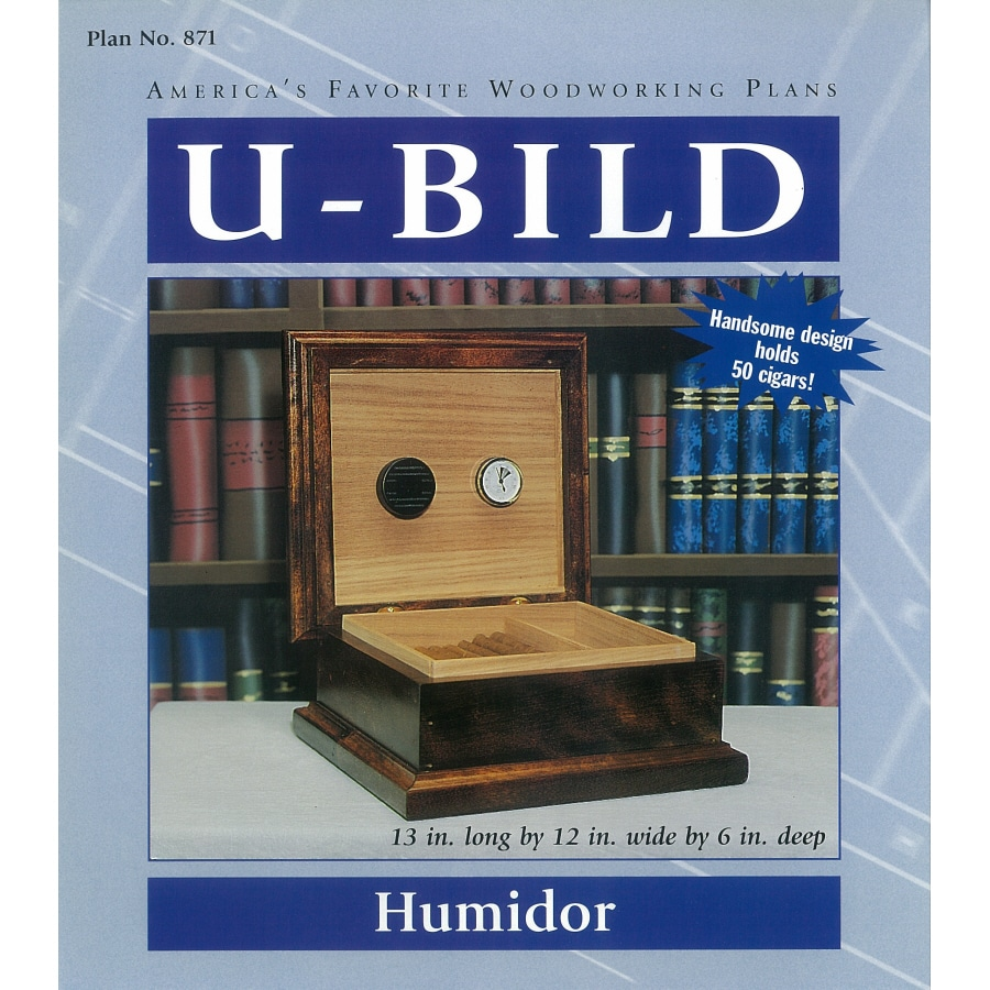 U-Bild Humidor Woodworking Plan