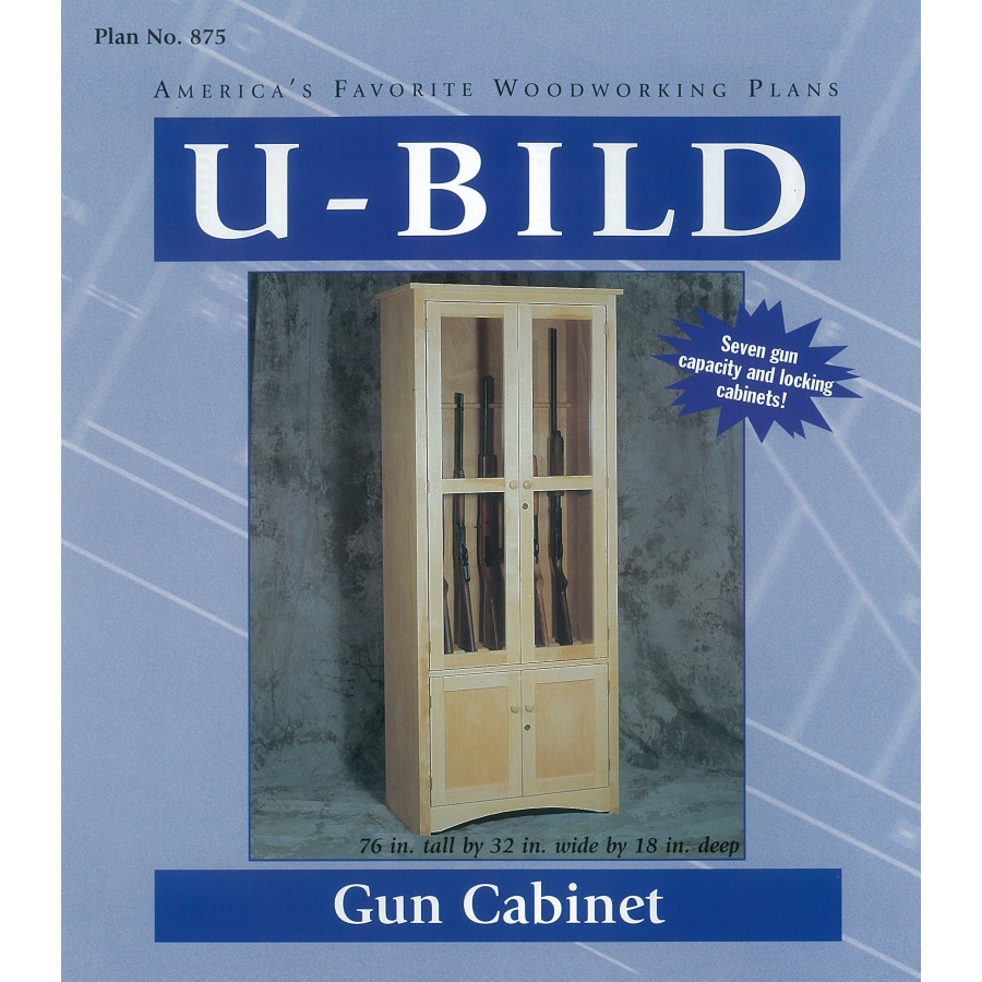 U Bild Gun Cabinet Woodworking Plan