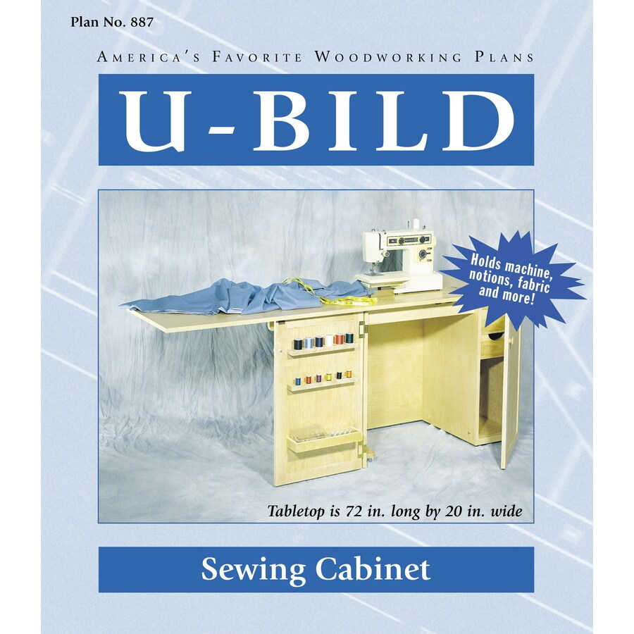 U-Bild Sewing Cabinet Woodworking Plan
