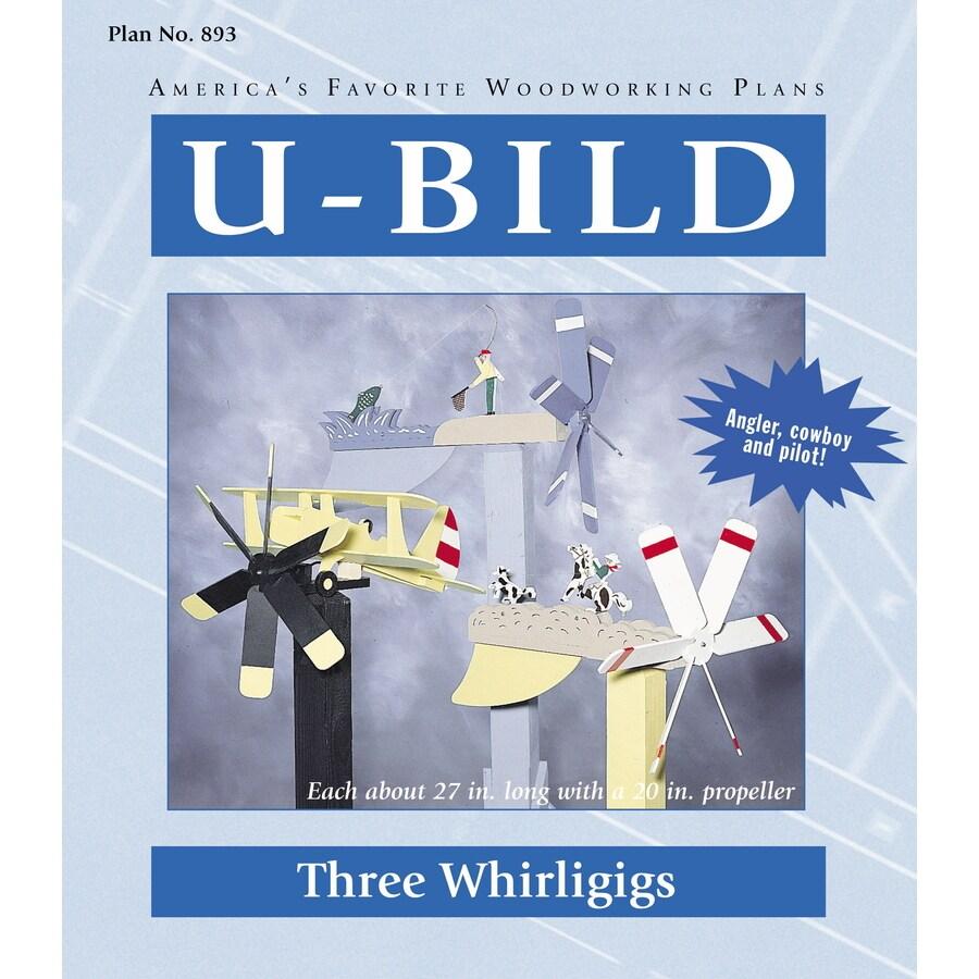 U-Bild Three Whirligigs Woodworking Plan