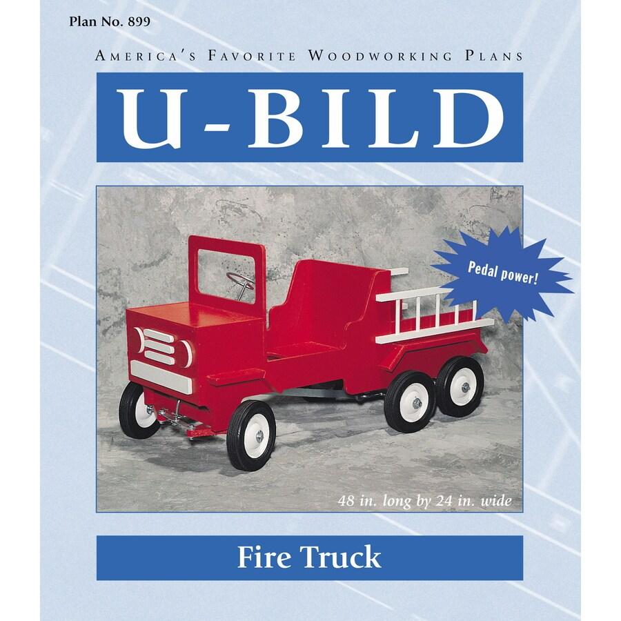 U-Bild Fire Truck Woodworking Plan