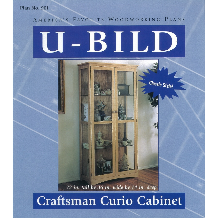 U Bild Craftsman Curio Cabinet Woodworking Plan
