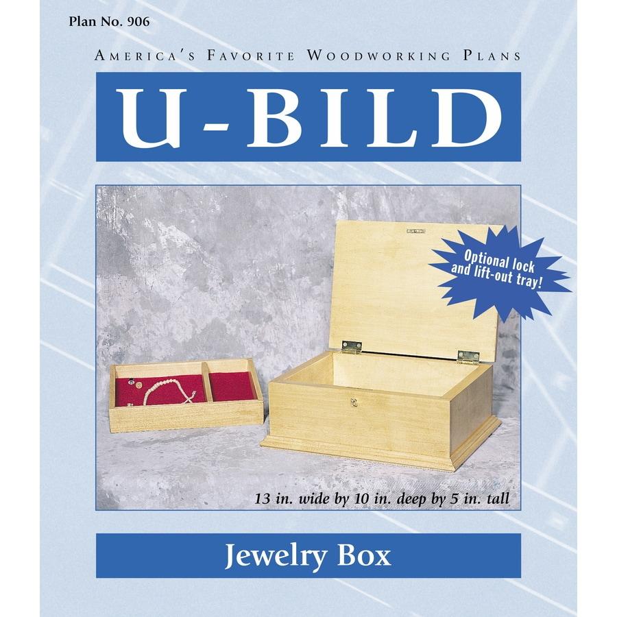 U-Bild Jewelry Box Woodworking Plan