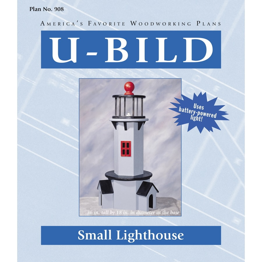U-Bild Small Lighthouse Woodworking Plan