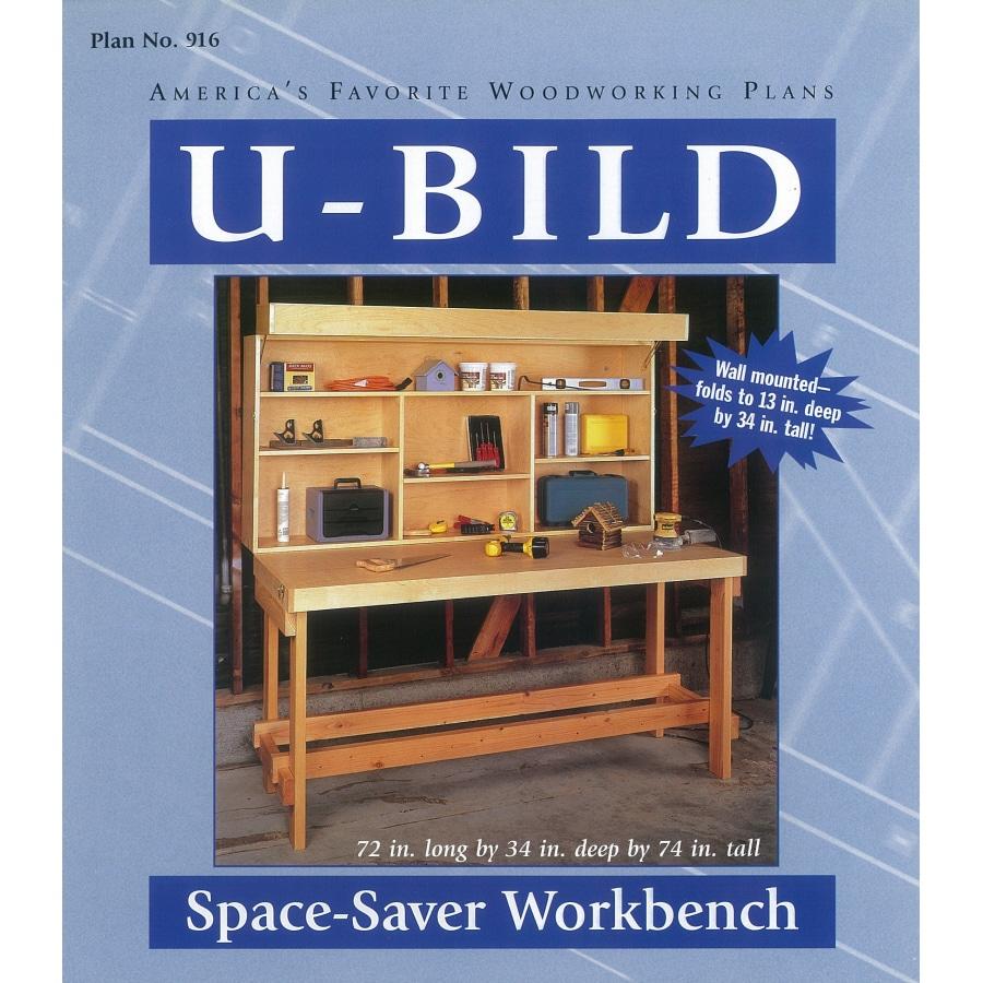 U-Bild Space-Saver Workbench Woodworking Plan