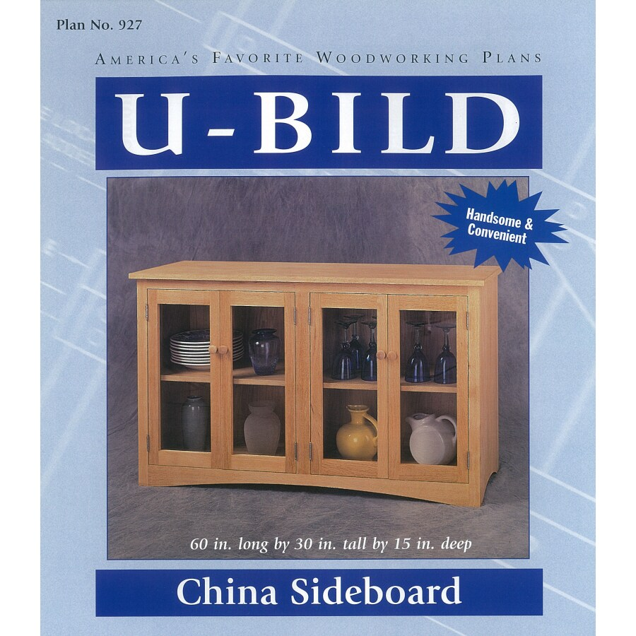 U-Bild China Sideboard Woodworking Plan