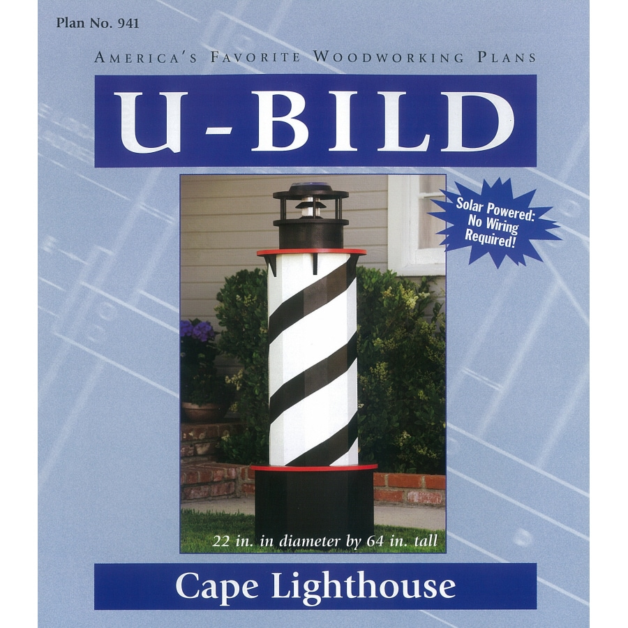 U-Bild Cape Lighthouse Woodworking Plan