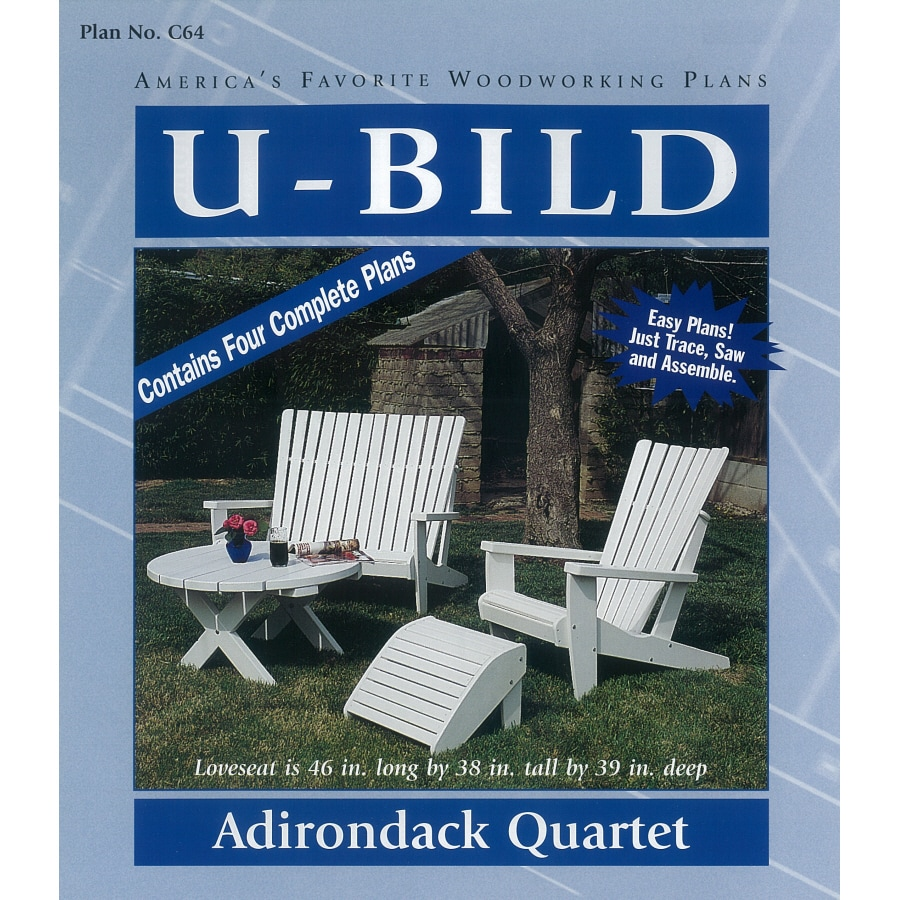 U-Bild Adirondack Quartet Woodworking Plan