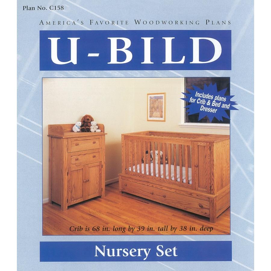 U-Bild Nursery Set Woodworking Plan