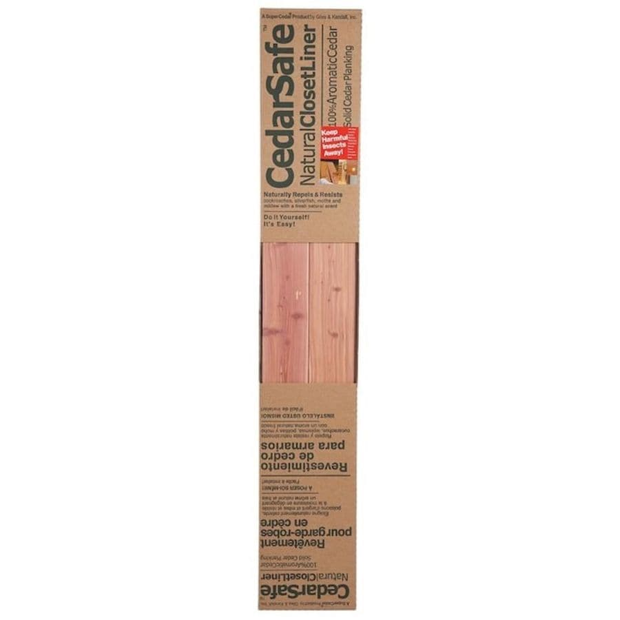 CedarSafe 15 Sq Ft Red Aromatic Cedar Wall Plank Kit