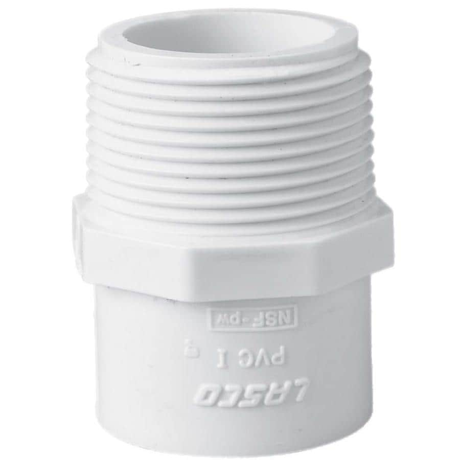 Shop Lasco Pvc Sch 40 Adapter At Lowes Com