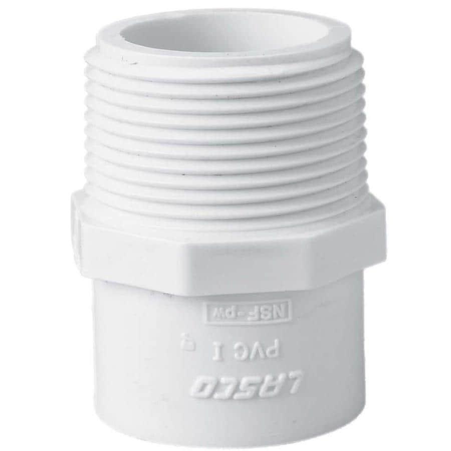 LASCO 1-1/4-in Dia x 1-1/2-in Dia PVC Sch 40 Adapter