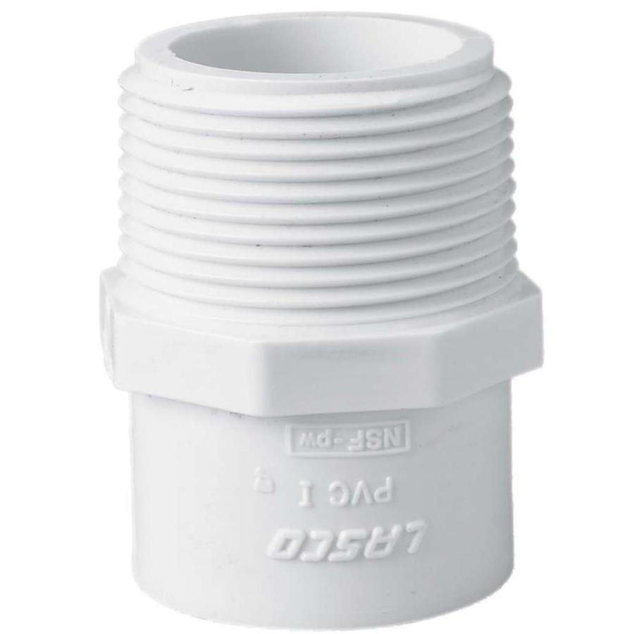 LASCO 1-1/2-in Dia x 1-1/4-in Dia PVC Sch 40 Adapter