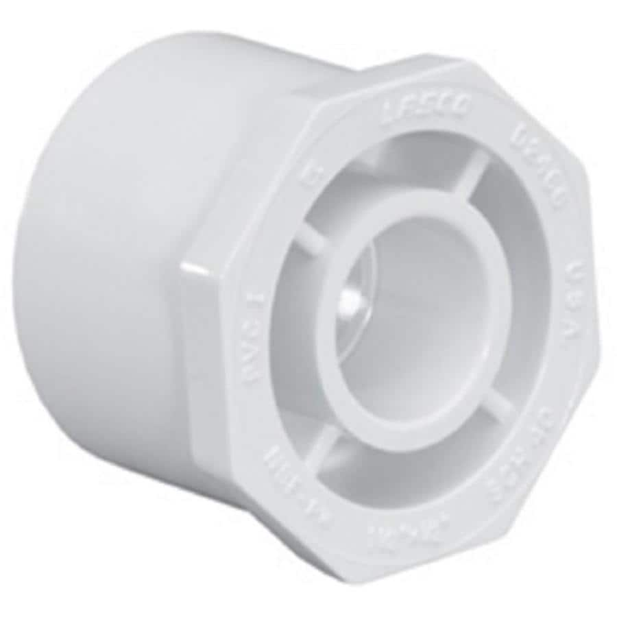 LASCO 3/4-in Dia x 1/2-in Dia PVC Sch 40 Bushing