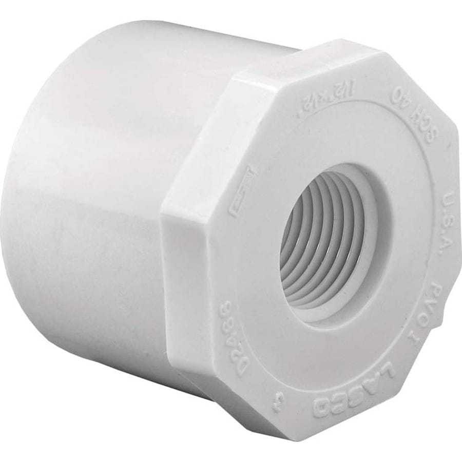 LASCO 2-in Dia x 1/2-in Dia PVC Sch 40 Bushing