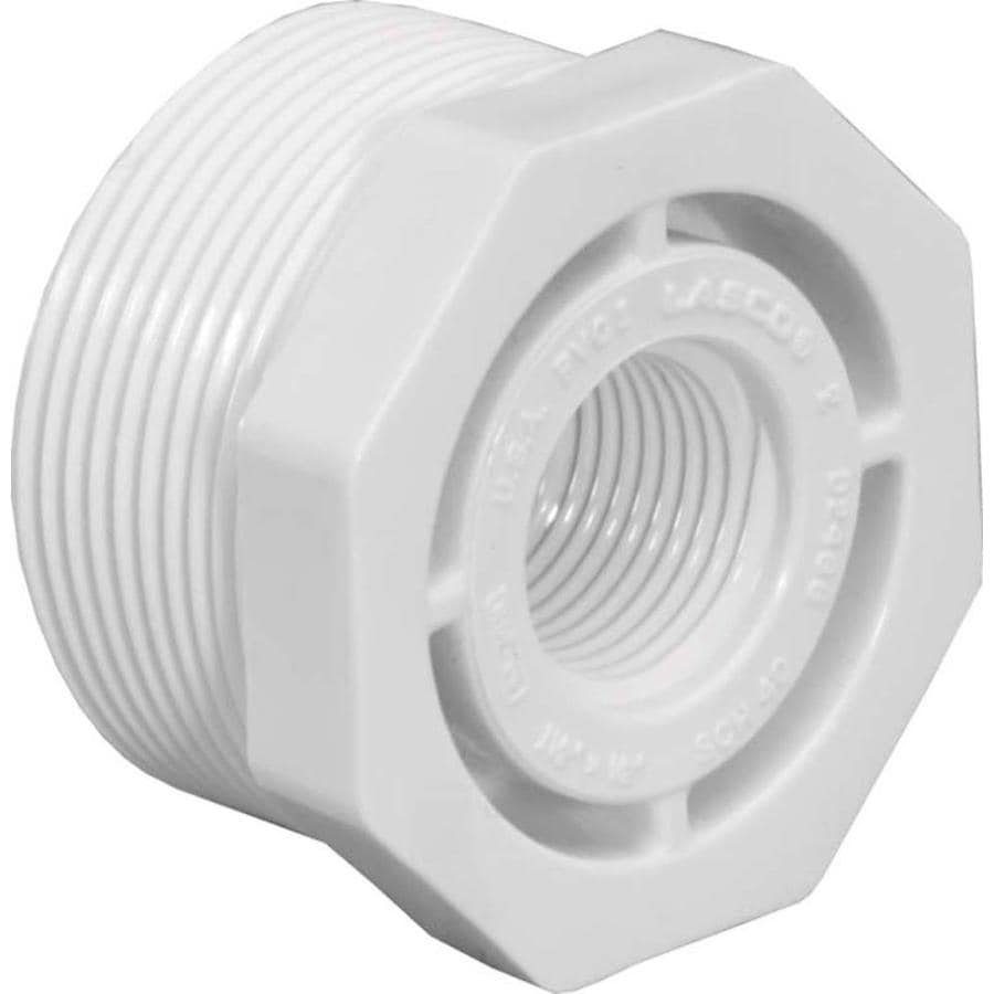 LASCO 1-1/2-in x 1-1/4-in Dia PVC Sch 40 Bushing