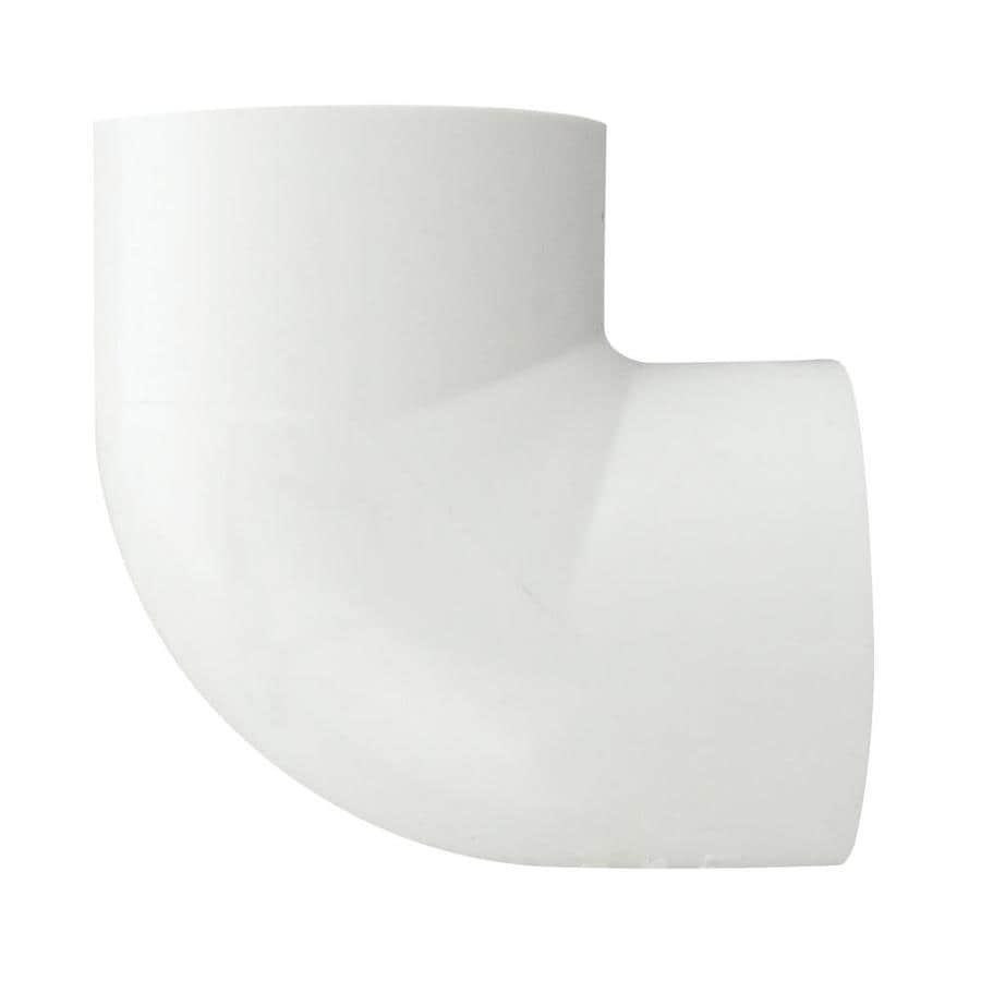 LASCO 1/2-in Dia 90-Degree PVC Sch 40 Slip Elbow