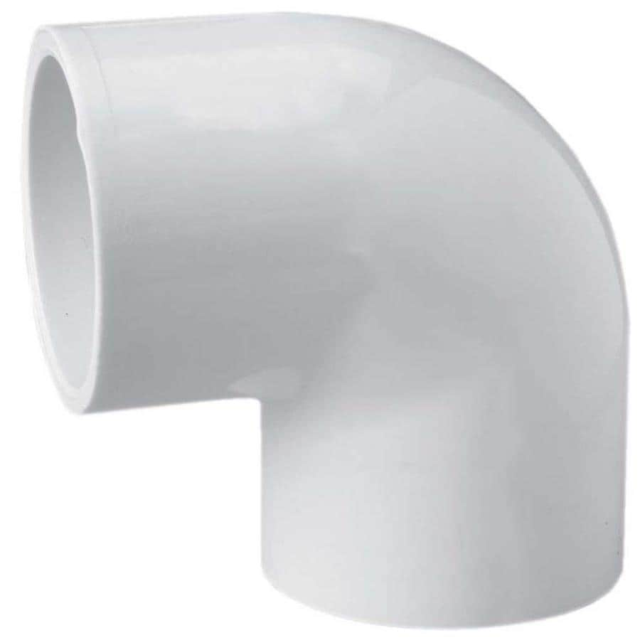 LASCO 1-in Dia x 1/2-in Dia 90-Degree PVC Sch 40 Slip Elbow