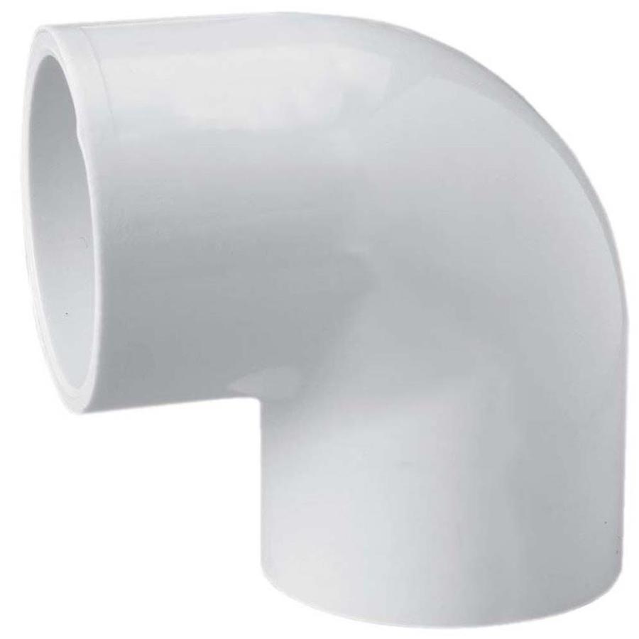 LASCO 1-1/4-in Dia x 1-in Dia 90-Degree PVC Sch 40 Slip Elbow