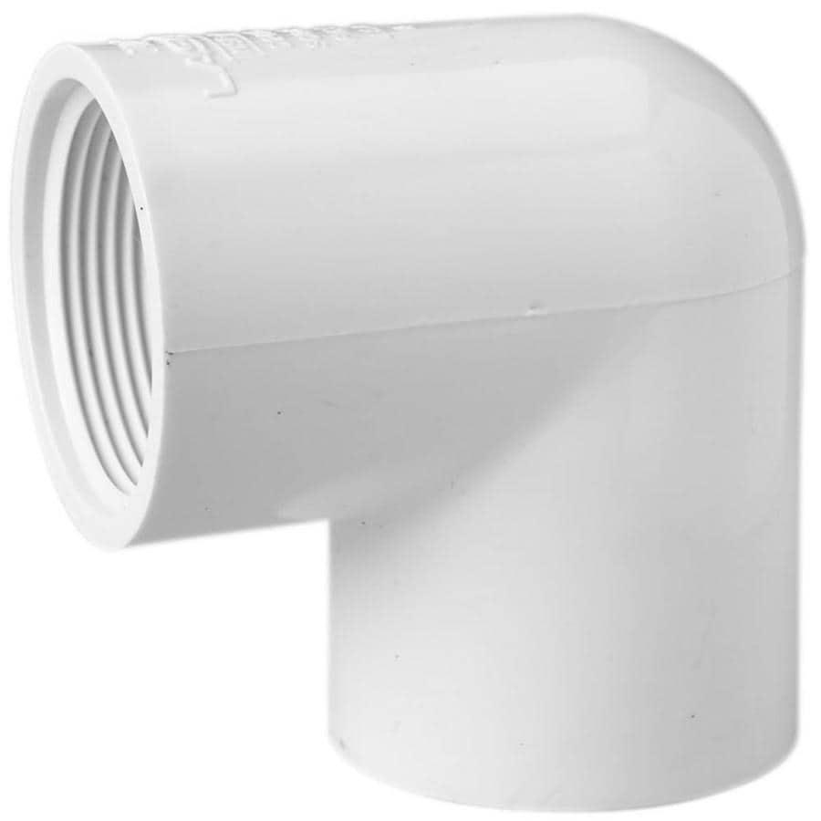 LASCO 3/4-in Dia x 1/2-in Dia 90-Degree PVC Sch 40 Elbow