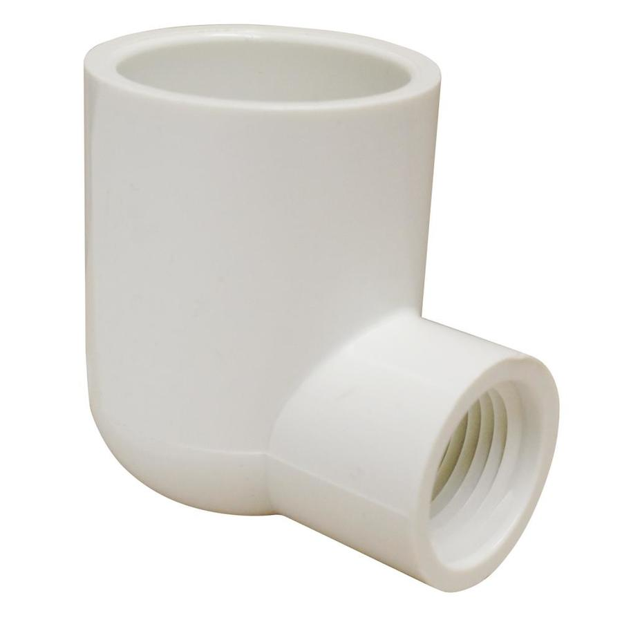LASCO 1-in x 1/2-in dia 90-Degree PVC Sch 40 Elbow