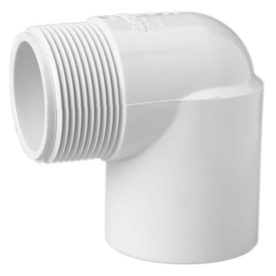 LASCO 1/2-in Dia 90-Degree PVC Sch 40 Street Elbow