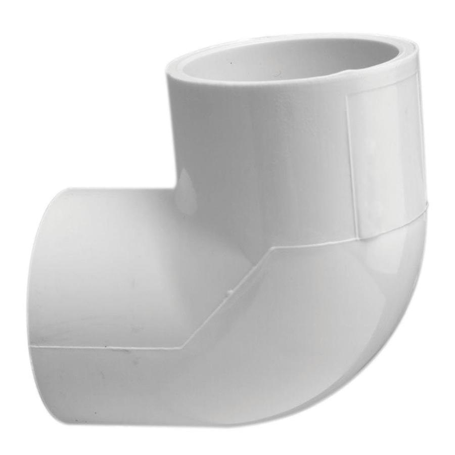 LASCO 1/2-in Dia 90-Degree PVC Sch 40 Elbow