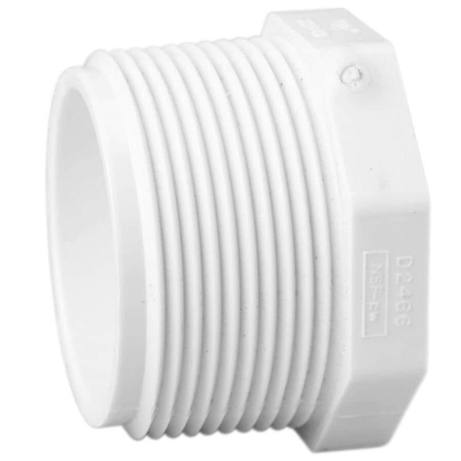Plug Pvc Pipe Fittings At Lowes Com