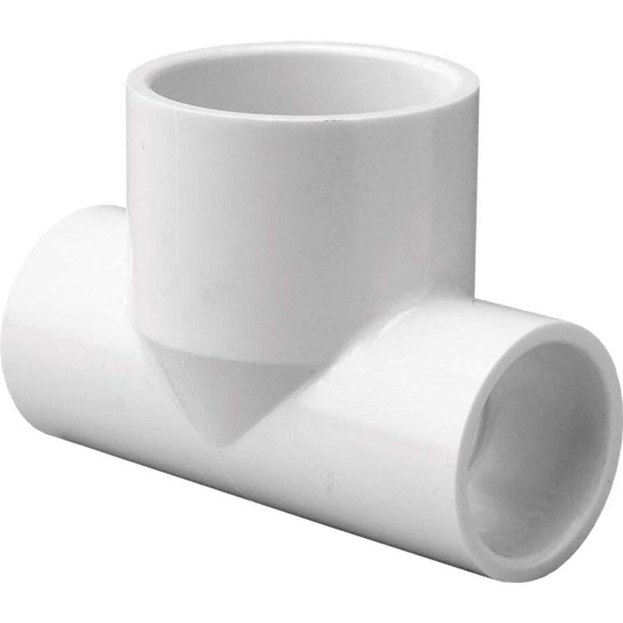 LASCO 3/4-in Dia x 3/4-in Dia x 1-in Dia 90-Degree PVC Sch 40 Tee
