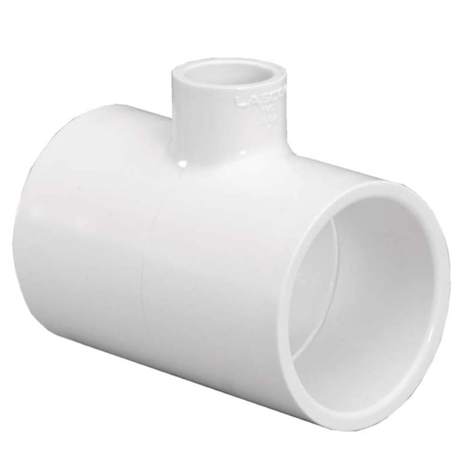LASCO 1-1/4-in Dia x 1-in Dia 90-Degree PVC Sch 40 Tee