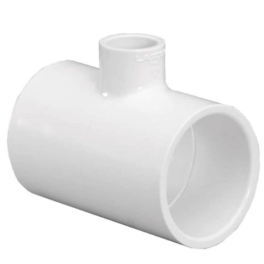 LASCO 1-1/2-in Dia x 1/2-in Dia PVC Sch 40 Tee