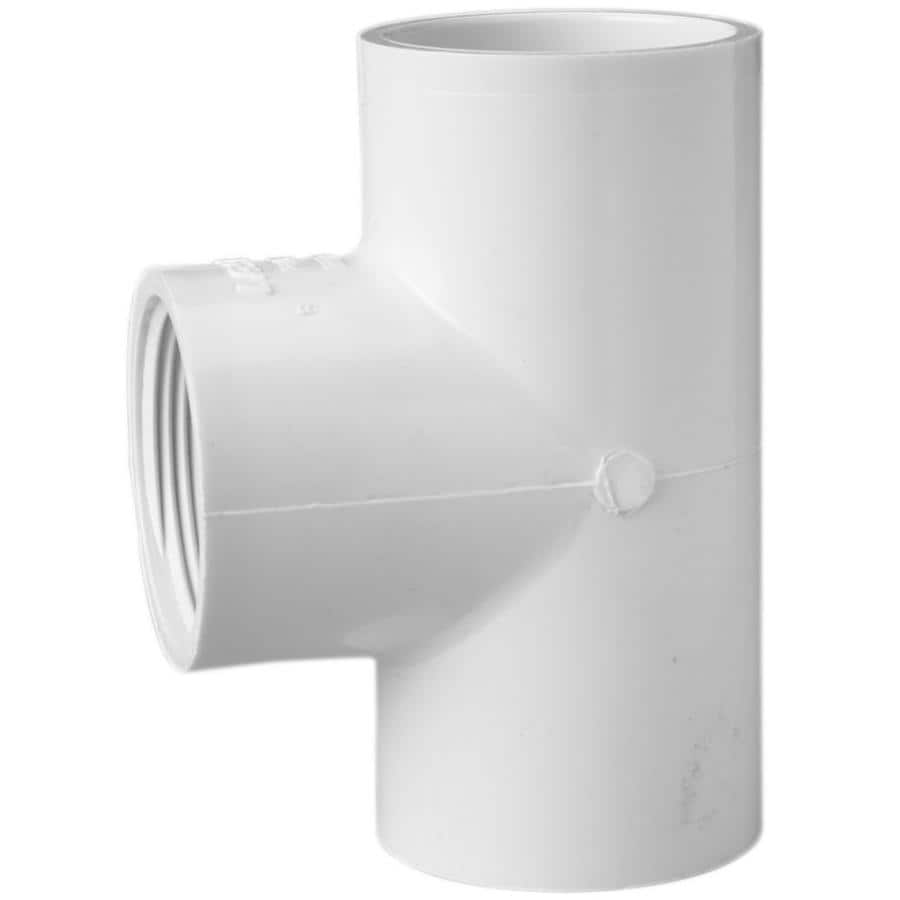 LASCO 1-1/2-in Dia 90-Degree PVC Sch 40 Tee