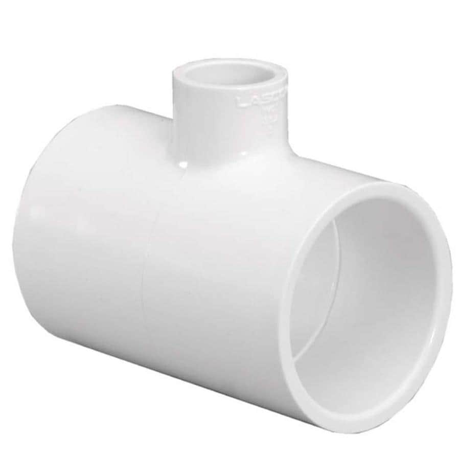 LASCO 1-1/2-in Dia x 3/4-in Dia 90-Degree PVC Sch 40 Tee