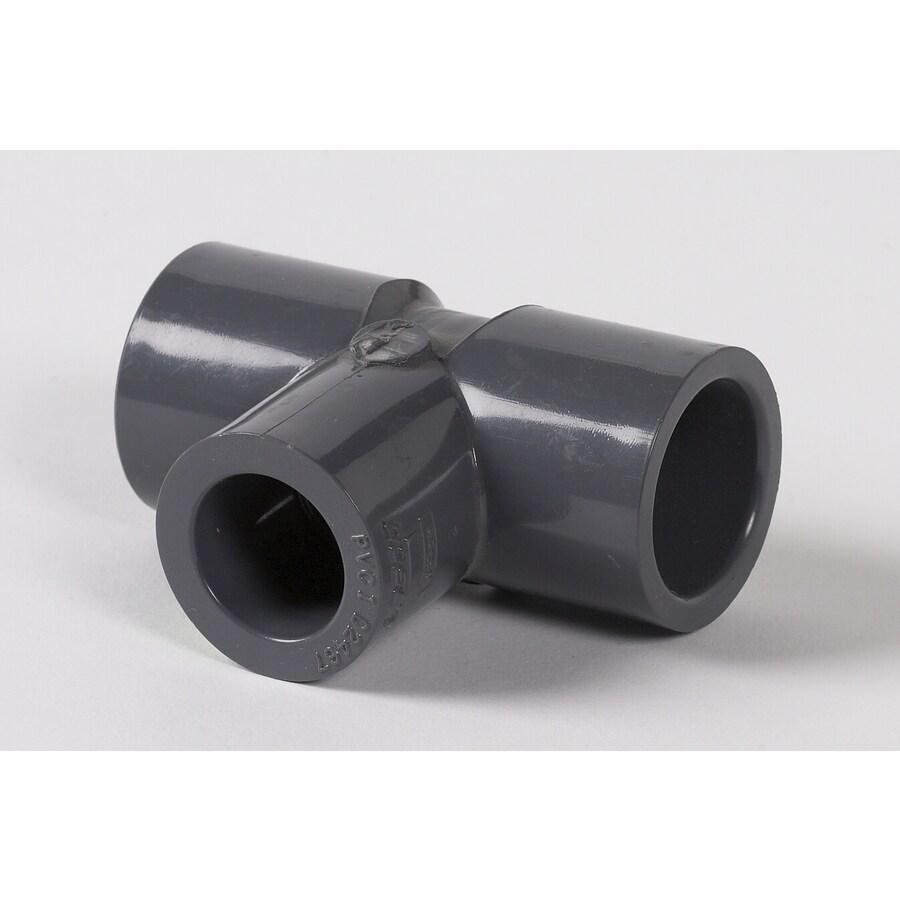 LASCO 3/4-in x 3/4-in x 1/2-in dia PVC Sch 80 Tee